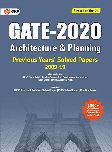 GATE Architecture & Planning Previous Years Solved Papers