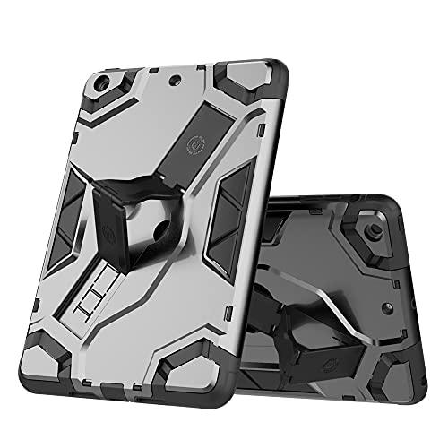SENSBUN Funda para tablet iPad Mini (7.9'') (1-3ª generación), resistente armadura suave TPU y cubierta rígida de PC con correa antideslizante y soporte a prueba de golpes, gris oscuro