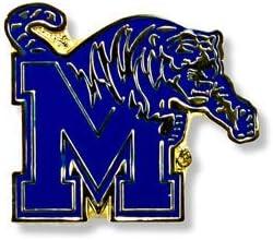 NCAA Memphis Max 43% OFF Tigers Pin Logo Max 57% OFF