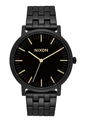 Nixon Reloj Analógico para Unisex Adultos de Cuarzo con Correa en Acero Inoxidable A10571031-00