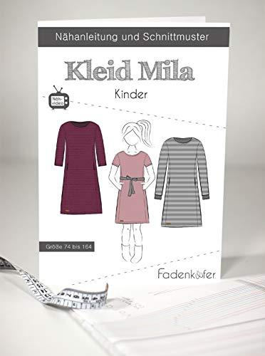 Schnittmuster und Nähanleitung - Kinder Kleid - Mila