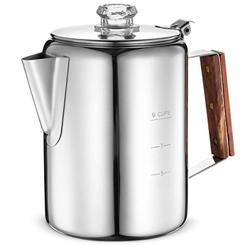 Eurolux Stainless Steel Percolator Coffee Maker