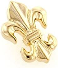 product image for JJ Weston Fleur de Lis Tie Tack. Made in The USA.