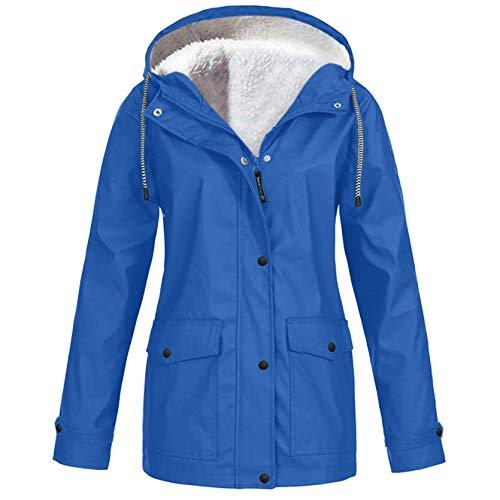 Damen wasserdichte Sonnencreme Mantel Tasche Kapuzenjacke Einfarbige Outdoor-Sportmantel