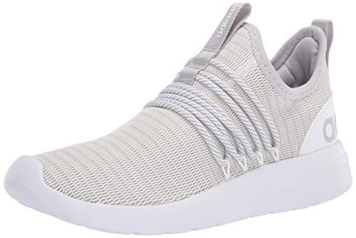 adidas Men's LITE Racer Adapt Running Shoe, White/Grey/Light Granite, 7.5 M US
