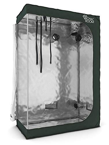 RoyalRoom® Growbox C120S 120x60x180cm Growzelt Gewächshaus