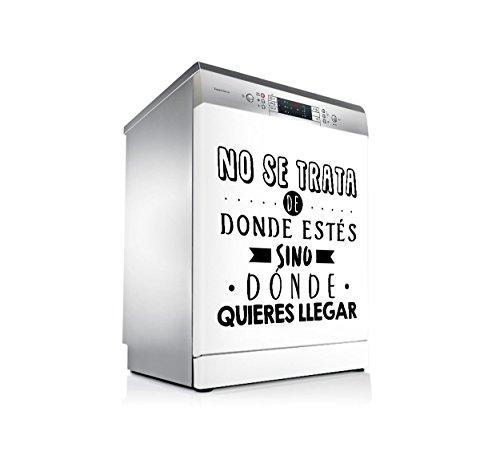 setecientosgramos Vinilo Lavavajillas | Stickers Dishwasher | Pegatina Lavavajillas | Metas