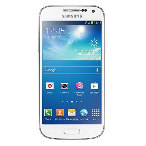Samsung Galaxy S4 Mini Smartphone (10,85cm (4.27Zoll) AMOLED, Micro-SIM, 8 GB interner Speicher, 8 Megapixel Kamera, LTE, NFC, Android 4.2) weiß - Asia Version