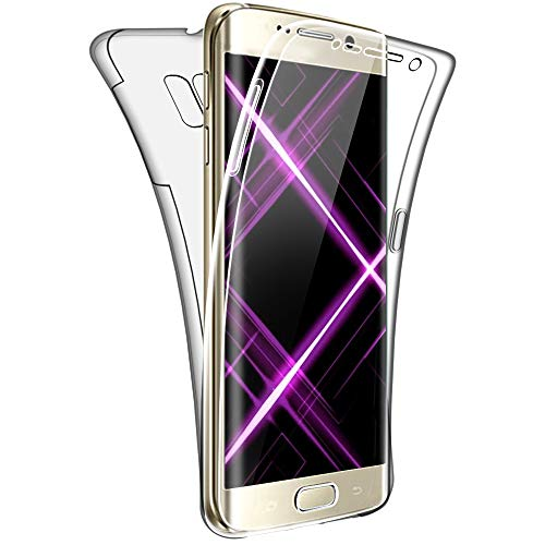 SDTEK Case for Samsung Galaxy S6 edge Full Body Protection 360 Gel Cover...