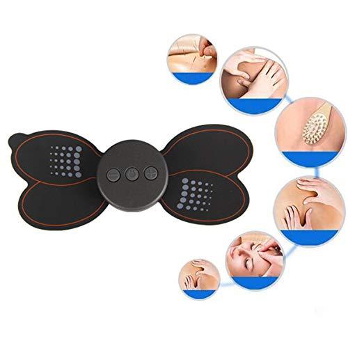 Preisvergleich Produktbild YIMUOUBA Nacken Massagegerät Tragbares Mini-Multifunktions-Schulter Massagegerät Zervikaler Meridian,  Hals- und Schulter Wirbel Massage,  USB-Aufladung,  4 + 1-Massage Techniken
