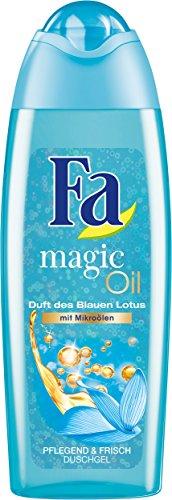 Fa Magic Oil Duschgel, Duft des Blauen Lotus, 6er Pack (6 x 250 ml)