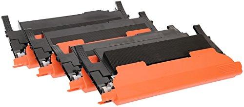 TONER EXPERTE® 4 Toner compatibili per Samsung CLP-360 C410W C460W C460FW C467W CLX-3305 CLX-3305FN CLX-3305N CLX-3305W CLX-3305FW CLP-360N CLP-365 CLP-365W CLT-K406S CLT-C406S CLT-M406S CLT-Y406S
