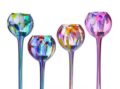 Purple Small Milford Glass Collection Friendship Nightlight