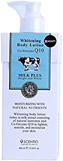 Scentio Milk Plus Body Lotion with Co-enzyme Q10 - 400 ml