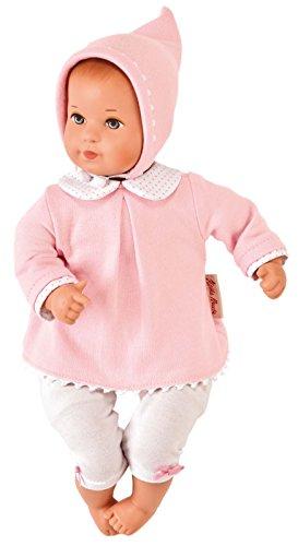 Käthe Kruse 36555 - Mini Bambina Anna mit Tasche, rosa