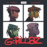 Gorillaz Calendar 2022: Gifts for Yourself, Friends and Family with 16-month Mini Calendar 8.5x8.5 inches