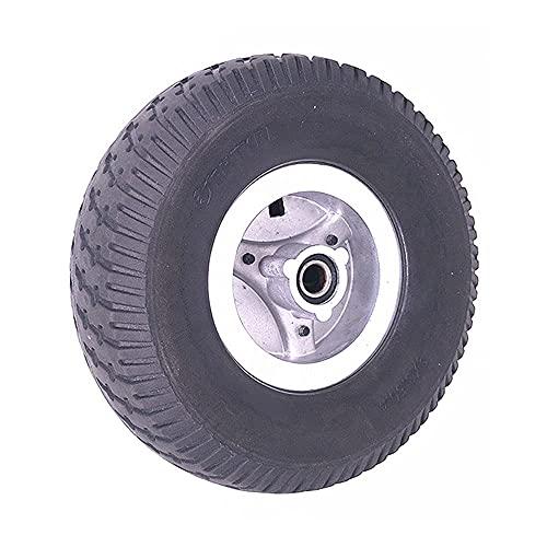 Neumáticos para Scooter eléctrico,9x3.50-4 Neumáticos Antideslizantes Resistentes al Desgaste + Ruedas de aleación de Aluminio,Adecuado para Accesorios de Rueda de Scooter eléctrico de 9 Pulgadas,Neu