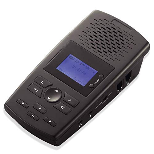 RecorderGear TR600 Landline Phone Call Recorder for Analog/IP/Digital Lines, Automatic Telephone Recording Device