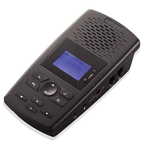 RecorderGear Grabadora de llamadas telefónicas de línea fija TR600 para líneas analógicas/IP/digitales, dispositivo de grabación telefónica automática