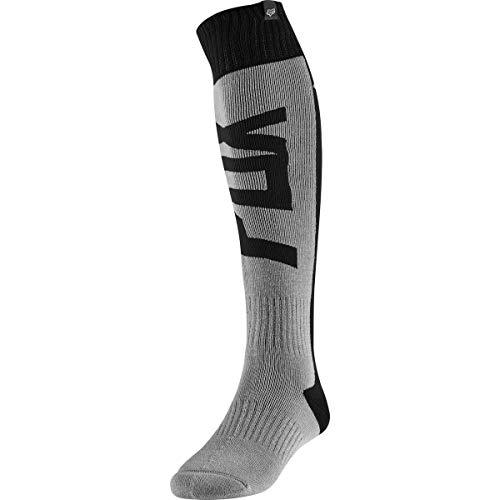 2020 Fox Racing FRI Thick Fyce Socks-Grey-S