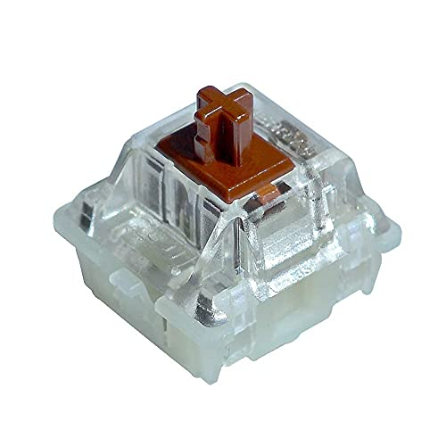 Cherry MX RGB Brown Key Switches (10 Pcs)- MX1A-L1NA   Plate Mounted   Tactile Switch for Mechanical Keyboard.