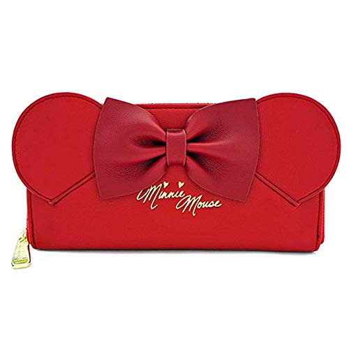 8fcce0707c Amazon.com  Loungefly Disney Minnie Mouse Ear Wallet  Toys   Games
