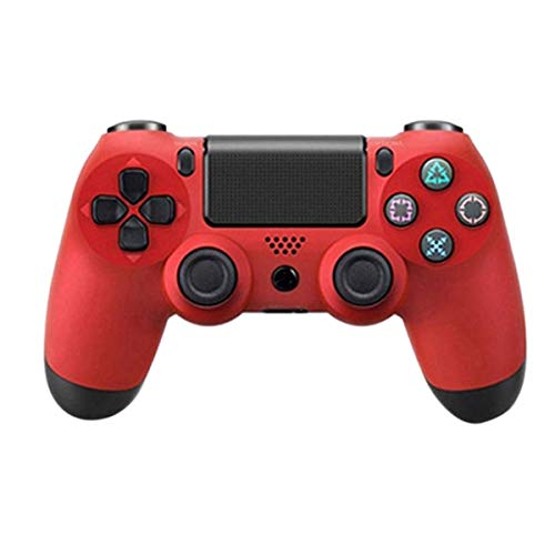 for Sony Ps4 Bluetooth Wireless Controller for Playstation 4 Wireless Vibration Joystick Gamepads for Ps4 Controller (red)