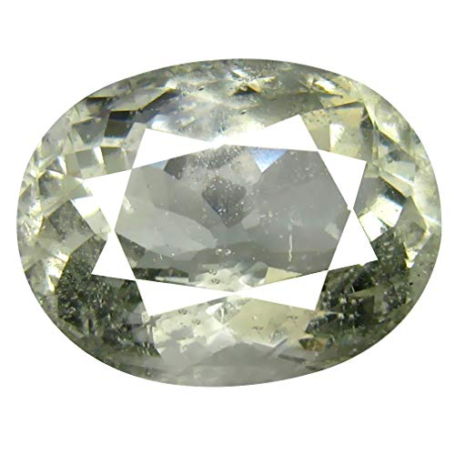 Berilo verde Gemas sueltas 7.94 ct AAA Grade Oval Shape (14 x 11 mm) Brazilian Green Beryl Genuine Loose Gemstone