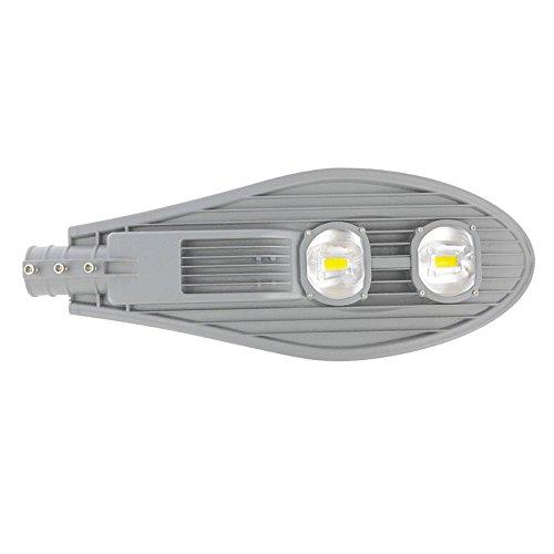 100W LED Straßenlampe Straßenleuchte Außenleuchte Warmweiß Mastleuchte Lampe Hofbeleuchtung Laterne AC 85-265V Wasserdicht IP65