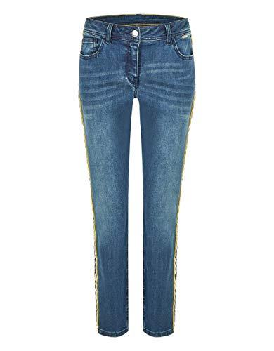 STEILMANN by Adler Mode Jeans mit Galonstreifen Blue Denim 40