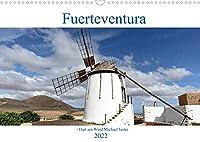 """Fuerteventura - Hart am Wind (Wandkalender 2022 DIN A3 quer): Fuerteventura liegt """"Hart am Wind"""" vor der Westsahara, das schafft ein Klima des ewigen Fruehlings. (Monatskalender, 14 Seiten )"""