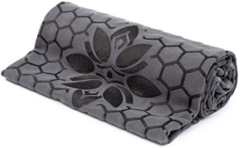 Non Slip Yoga Towel Smooth Two Sided Skidless Design for Better Grip Larger in Size 72 x 26 product image