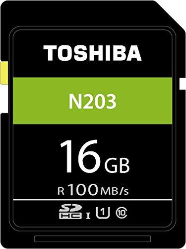 Toshiba N203 Scheda di Memoria SDHC 16GB - 100MB/s - Classe 10 -...