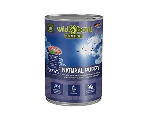Wildborn Natural Puppy Dose Nassfutter für Welpen 400g (Menge: 6 je Bestelleinheit)