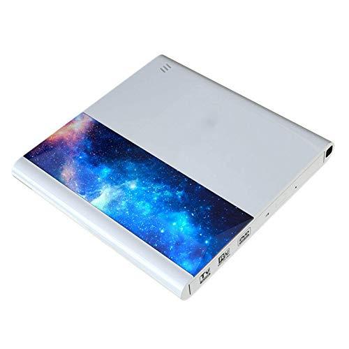 Unidad óptica DVD externa Unidades ópticas compatibles con conexión de TV con USB 3.0 y interfaz tipo C Control remoto para portátil PC de escritorio