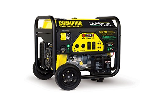 Champion Power Equipment 100165 9375/7500-Watt Dual Fuel...