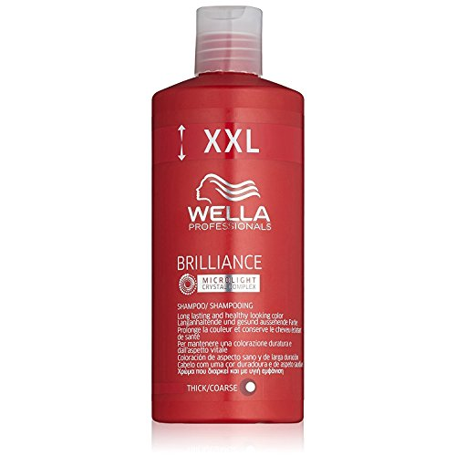 Wella Professionals Brilliance Shampoo für widerspenstiges, coloriertes Haar, 500 ml