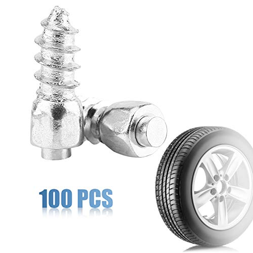 Yosoo Health Gear 12mm Snow Tire Studs, Wheel Tyre Stud Screws, Tire...