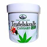 Crema/gel de CAÑAMO CANNABIDOL | Reparador de musculos y articulaciones con aceite de Cannabis natural | Cannabix crema para el alivio de pies, hombros y cualquier músculo| Calidad Alemana