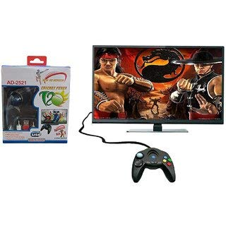 OANGO Plastic Advance TV 108000 8 Bit Cricket Edition No Battery Required USB Power Video Games...