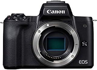 Canon ミラーレス一眼カメラ EOS Kiss M ボディー ブラック EOSKISSMBK-BODY