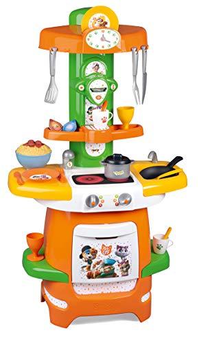 Smoby-44Gats-Cocina Cooky-20 Accesorios Incluidos Cocina, 310716, Naranja