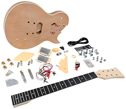 Saga LC-10 LP Style Electric Guitar Kit
