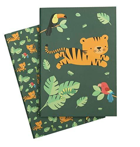 Carnets A5 Tigre - A Little Lovely Company