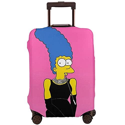 Simpsons Audrey Hepburn Maleta Funda protectora lavable Diseño 3D 4 tamaños para la mayoría de equipaje bolsa protectora cremallera