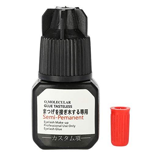 Colle professionnelle pour extension de cils - Tenue très forte, longue durée de séchage et séchage rapide - Adhésif de qualité professionnelle supérieur, sans formaldéhyde ni latex - 7 ml