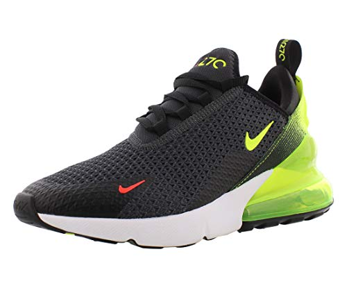 Nike Air Max 270 RF (GS), Scarpe da Atletica Leggera Uomo, Multicolore (Anthracite/Volt/Black/Bright Crimson 000), 38.5 EU