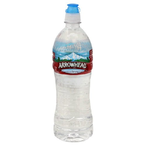 Arrowhead Bottled Water, 24-Ounce Sport Cap Bottles (Pack of 24)