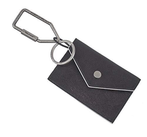 (オフホワイト)Off-White カードケース キーリング LOGO CARD HOLDER W KEY CHAIN OMNF027S20853020-1000 [並行輸入品]