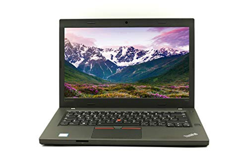 Lenovo ThinkPad T460p 14 Inch Full HD (1920x) I Powerful Laptop I Intel Core i7-6th Gen 8 GB RAM - 256 GB SSD Win 10 Pro Nvidia GeForce 940MX 1.81 kg Black (Refurbished)